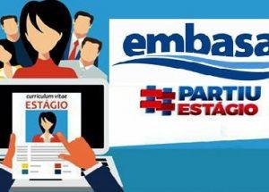 Programa Partiu Estágio Embasa 2020 – Vagas Abertas